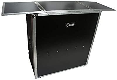 Harmony Case HCDJSTANDT Compact Fold Out Portable DJ Workstation Table from Harmony Audio