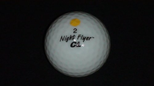 Yellow LED Golf Ball
