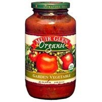 Muir Glen Organic Garden Vegetable Pasta Sauce, 25.5 Ounce -- 12 per case.