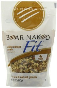 Bear Naked - Fit Granola 100% Pure & Natural Vanilla Almond Crunch - 12 Oz. [Pack of 3]
