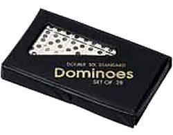 CHH Double 6 Profesional Sized Dominoes with Spinner - - Game Domino Spinner