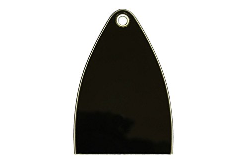 Truss Rod Cover for Import Paul Reed Smith PRS SE guitars, 1 pcs Blank black (ship from usa) ()