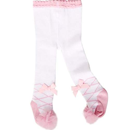 Infant Baby Girl Cotton Princess Tights,Kids Lovely Pink Socks Stockings Pants Hosiery Pantyhose,0-36 Months