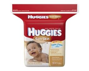 Huggies Soft Skin Baby Wipes