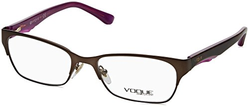 (Vogue VO3918 Eyeglass Frames 934-52 - Brushed Brown VO3918-934-52)