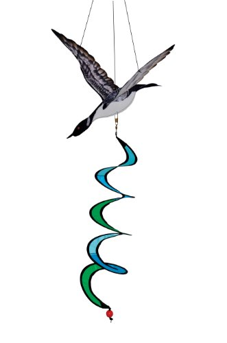 In the Breeze Loon Theme Twister Decorative Objects Sculptures