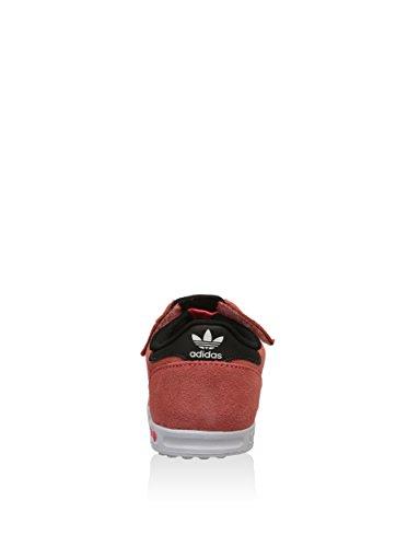 adidas La Trainer, Zapatillas Unisex Bebé Naranja / Rosa / Blanco / Negro