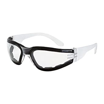 d12f52aac9 Radians Crossfire Shield Clear Anti-Fog Lens   Clear Frame Foam Lined  Safety Glasses (16 Pairs)  Amazon.com  Industrial   Scientific