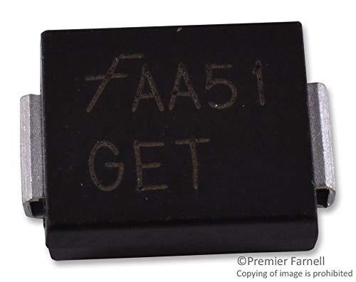 SMCJ18CA - TVS Diode, SMCJ Series, Bidirectional, 18 V, 29.2 V, DO-214AB, 2 Pins (Pack of 50) (SMCJ18CA)