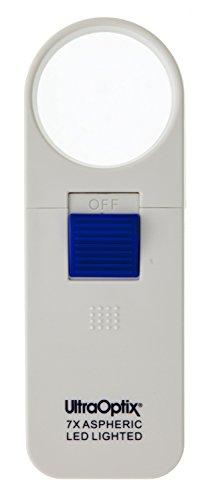 - Ultra OPTIX SV-2LP-LED 0 Pock Lighted Magnifier