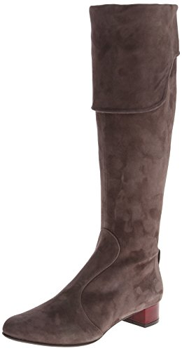 Coclico Women's Sage Riding Boot,Suede Schist,38.5 EU/8 B US