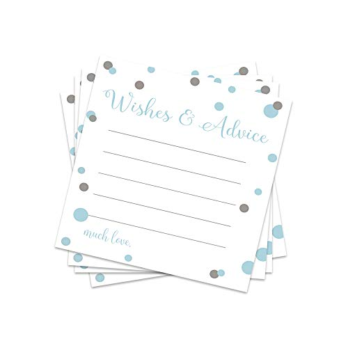 Mod Advice and Wishes Cards - Set of 25 -