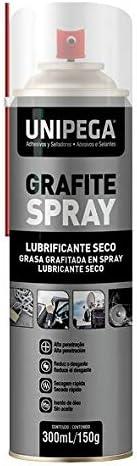 Grafite Spray Lubrificante 300ml - Unipega