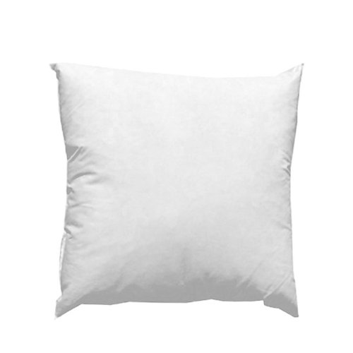 Famous Maker 20in x 20in Feather/Down Pillow Form White, Waterfall Fabric.com PIL-009