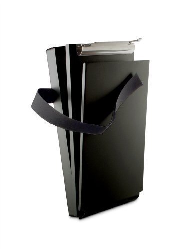 Saunders 12206 Recycled Aluminum Citation Holder II Form Holder Clipboard - 6 x 11 inches - Black by - Citation Holder Aluminum Saunders