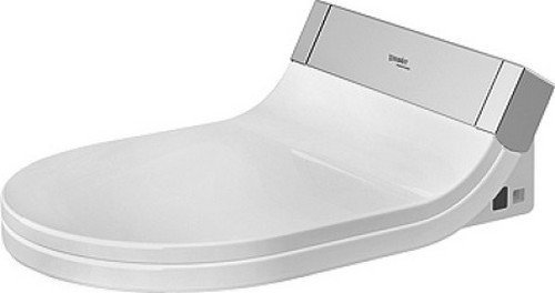 Duravit 610000001040100 Sensowash Starck Shower Toilet Seat, USA/Canada Version, White by HM Wallace - DROP SHIP by HM Wallace - DROP SHIP