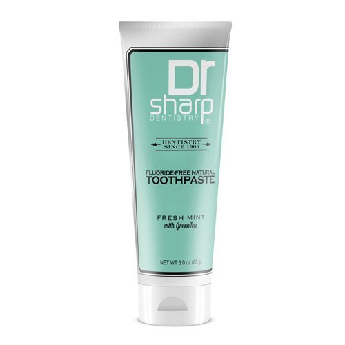 Dr. Sharp Natural Oral Care Toothpaste - Fresh Mint with Green Tea - 3 oz