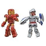 Marvel Vs Capcom 3 Minimates Series 1 Mini Figure 2Pack Iron Man Vs. Arthur