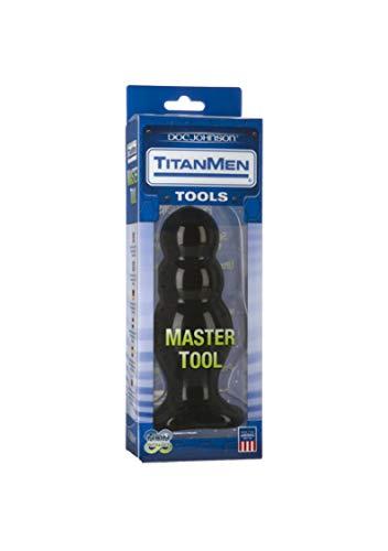 Doc Johnson Titanmen - Master Tool #4 - Triple Ripple Plug