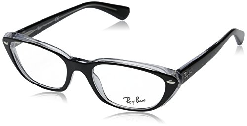 Ray Ban Eyeglasses RB 5242 BLACK 2034 RX5242 - Ban Cat Glasses Frames Eye Ray