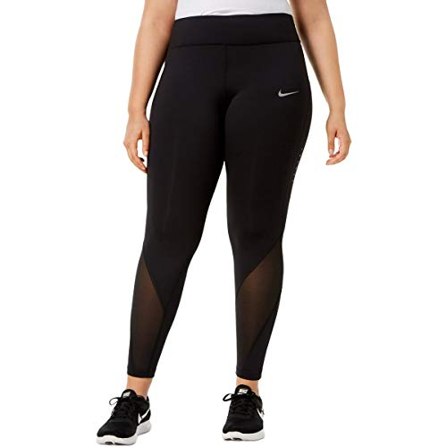 Nike Women's Plus Size Epic Lux Leggings Black 1X
