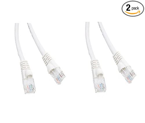 Amazon Com Ce 2 Pack Cat5e Hi Speed Lan Ethernet Patch Cable