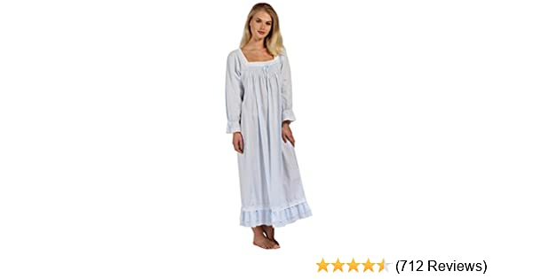 """Size X-Large The 1 For U 100/% Cotton Nightdress Kate /""""White/"""""""