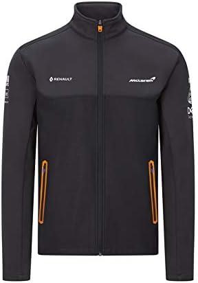 McLaren F1 Mens Team Softshell Jacket Anthracite