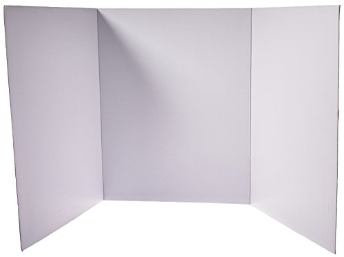 Royal Brites Project Board Tri-Fold with Gridlines, 11 x 14 Inches, (27072)