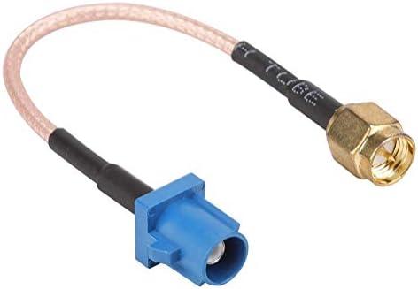 Tangxi Fakra A SMA-F Adapte, Coche Adaptador de Antena GPS Cable ...