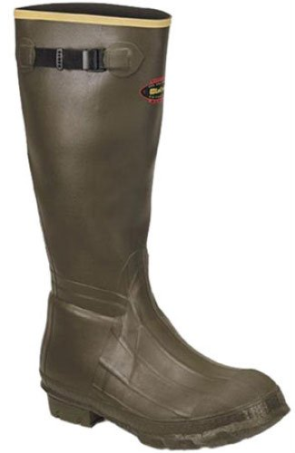 Burly Cleated Olive Drab Boots Size 11 by Lacrosse