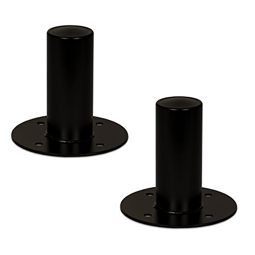 Goldwood Speaker Stand Top Hat 2 Speaker Cabinet Pole Mount Black (TH45)]()