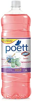 Poett Limpiador Desinfectante De Superficies Aroma Frescura Frutal 1,8 Lt