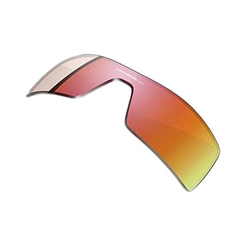 Oakley Oil Rig Men's Active Replacement Lens Casual Sunglass Accessories - Ruby Iridium / One - Oakley $16 Sunglasses