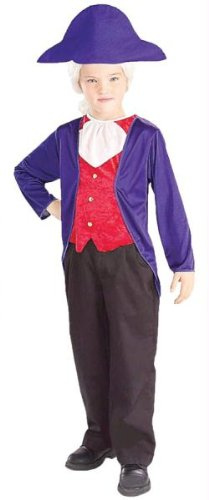 Costumes for all Occasions FM58269MD George Washington Child -