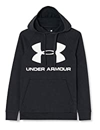 Under Armour Mens Rival Fleece Sportstyle Logo Hoodie Hoodie