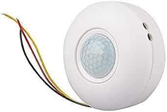 جهاز أستشعار الضوء كهربائي ذكي يعمل باللمس ليلًا 220 فولت أبيض