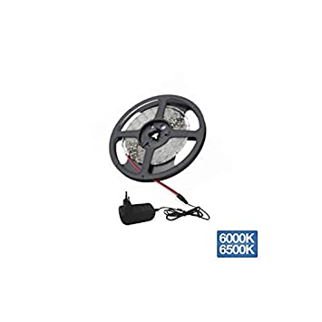 Kit tira de led 2 metros luz fría 8W 420 lúmenes/metro GSC 1504509: Amazon.es: Bricolaje y herramientas