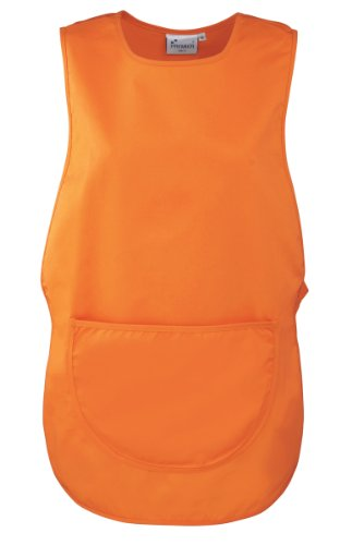 Premier Ladies/Womens Pocket Tabard / Workwear (L) (Orange) by Premier