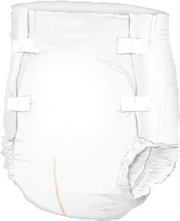 McKesson Ultra Adult Incontinent Brief, Tab Closure, Disposable, Heavy Absorbency, Small (22
