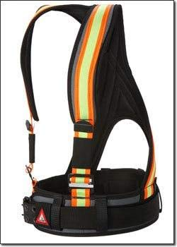 Adjustable Jigsaw Frame (Super Anchor All-Pakka Harness - Utility Belt 6301H - X-Large/Jig Saw Camo Olive)