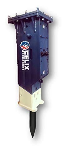 Felix Hydraulic Hammer Breaker Box Type Excavator 20 to 24 ton Chisel Diam 5.52inch