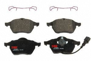 TRW TPC0687 Premium Front Disc Brake Pad (Audi Tt Front Brake)