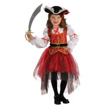 [Rubie's Let's Pretend Princess Of The Seas Costume - Medium (8-10)] (Fun Cheap Easy Halloween Costumes)