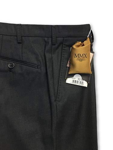 In W32l36 Trousers Mmx Wool Grey Size 5w7IRqaf