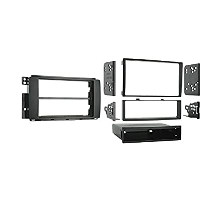 Metra 99-8715 Double DIN or Single DIN Installation Dash Kit for 2008-up SMART for Two: Car Electronics