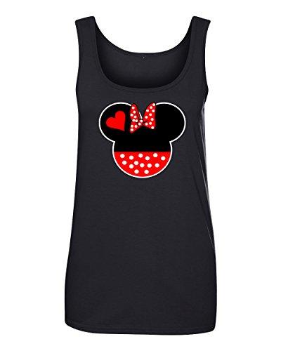 CAMALEN Minnie Head Fashion Cool Women's Tank Top Shirt for -