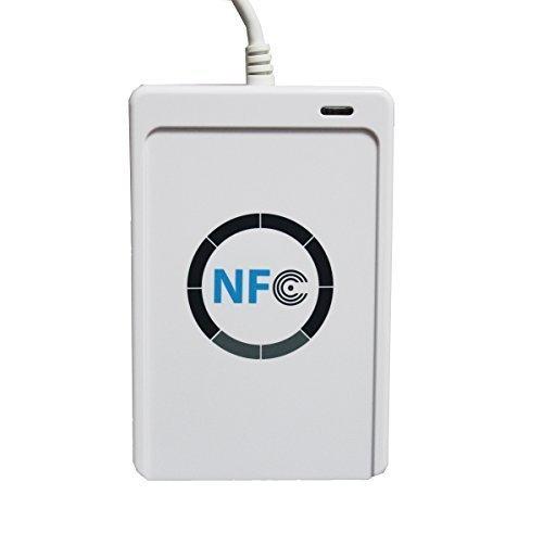 (エーシーエス) ACS CF-ACR122U アクセスコントロール用非接触スマートICカードリーダー USB/NFC/RFID対応 ホワイト B00MVV5PHY