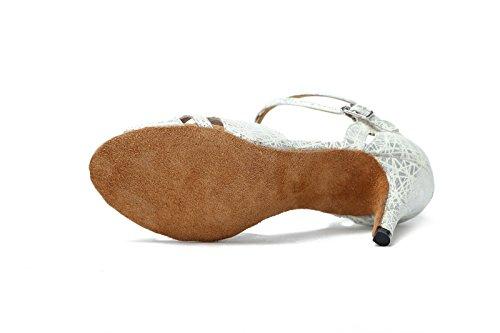Miyoopark - salón mujer Silver-8.5cm Heel