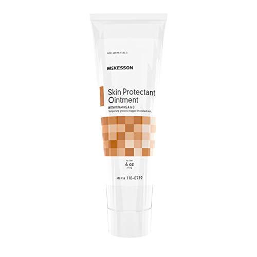 (Case of 12 McKesson White Petrolatum Skin Protectant Ointment 4 oz. Tube)